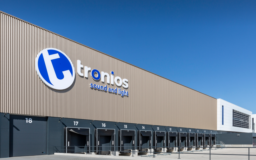 Bedrijfsbezoek Tronios 8 oktober 2021